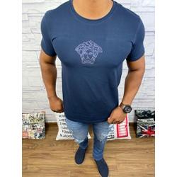 Camiseta Versace Marinho - CVC24 - DROPA AQUI