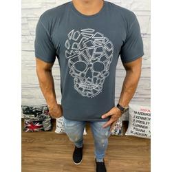 Camiseta Cavalera Cinza - Shopgrife