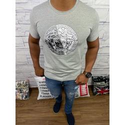 Camiseta Versace Cinza - CVC31 - DROPA AQUI