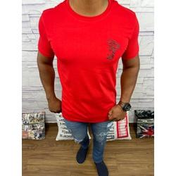 Camiseta Versace Vermelho - CVC32 - DROPA AQUI