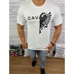 Camiseta Cavalera Branco - CAV53 - Queiroz Distribuidora Multimarcas