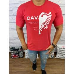 Camiseta Cavalera Vermelha - CAV54 - Queiroz Distribuidora Multimarcas