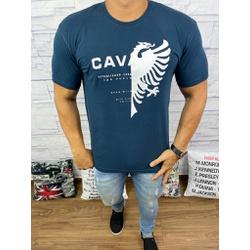 Camiseta Cavalera Azul Marinho - CAV52 - Queiroz Distribuidora Multimarcas