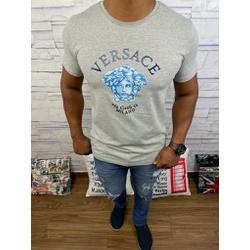 Camiseta Versace Cinza Detalhado - CVC25 - DROPA AQUI