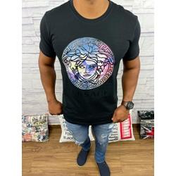 Camiseta Versace Preto - CVC36 - DROPA AQUI