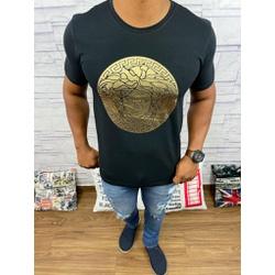 Camiseta Versace Preto Detalhado - CVC38 - DROPA AQUI