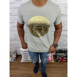 Camiseta Versace Cinza Detalhado - CVC37 - DROPA AQUI