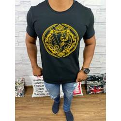 Camiseta Versace Preto - CVC34 - DROPA AQUI