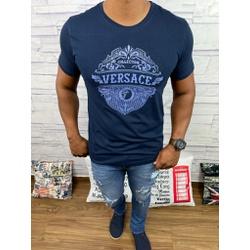 Camiseta Versace Marinho - CVC35 - DROPA AQUI