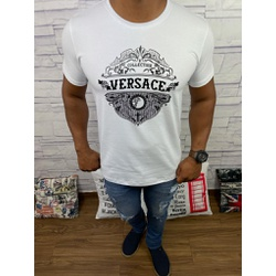 Camiseta Versace Branco - CVC29 - DROPA AQUI