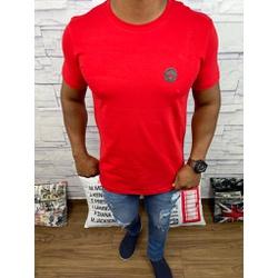 Camiseta Versace Vermelho - CVC22 - DROPA AQUI