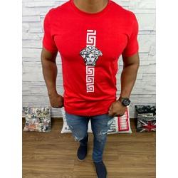 Camiseta Versace Vermelho - CVC40 - DROPA AQUI
