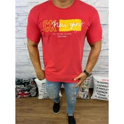 Camiseta CK Vermelho - Shopgrife