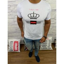 Camiseta Dolce g Branco - CDG49 - RP IMPORTS