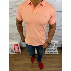 Polo RL Laranja Claro - PRL064 - Out in Store