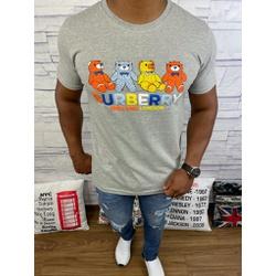 Camiseta Burberry Cinza Riscado - BBR51 - DROPA AQUI