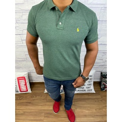 Polo RL Verde Escuro - PRL060 - Out in Store