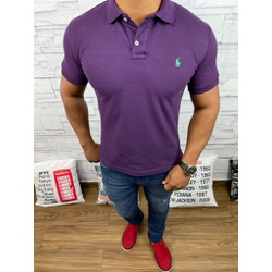 Polo RL Roxo - PRL052 - Out in Store