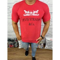 Camisetas Levi's Vermelho - Shopgrife