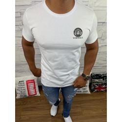 Camiseta Versace Branco - CVC48 - Queiroz Distribuidora Multimarcas