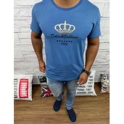 Camiseta Dolce g Azul Fosco - CDG47 - RP IMPORTS