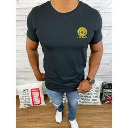 Camiseta Versace Preto - CVC47 - DROPA AQUI