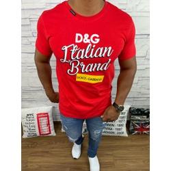 Camiseta Dolce G Vermelho⭐ - CDG74 - Out in Store