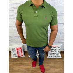 Polo RL Verde Militar - PRL054 - Out in Store