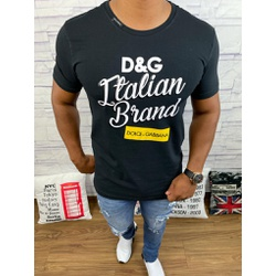 Camiseta Dolce G Preto⭐ - CDG77 - Out in Store