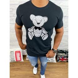 Camiseta Burberry Preto - BBR45 - DROPA AQUI