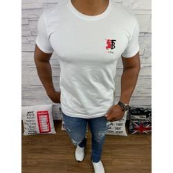 Camiseta Burberry Branco - BBR50 - DROPA AQUI