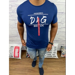 Camiseta Dolce G Marinho - CDG45 - Out in Store