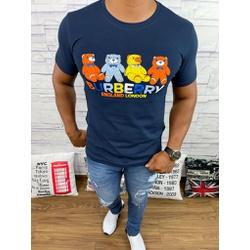 Camiseta Burberry Marinho - BBR48 - DROPA AQUI