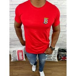 Camiseta Burberry Vermelho - BBR47 - DROPA AQUI