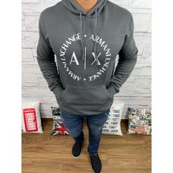 Blusa de Frio Armani Cinza Escuro - bfar16 - Out in Store