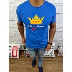 Camiseta Dolce g Azul Aberto - CDG51 - RP IMPORTS