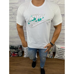 Camiseta Nik Branco - Shopgrife