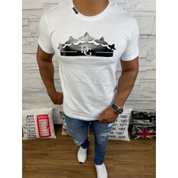 Camiseta Dolce G Branco - CDG73 - Queiroz Distribuidora Multimarcas
