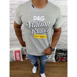 Camiseta Dolce G Cinza - CDG72 - Queiroz Distribuidora Multimarcas