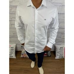 Camisa Manga Longa Armani Branco - CMLAX24 - Queiroz Distribuidora Multimarcas