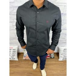 Camisa Manga Longa Armani Preto - CMLAX26 - Queiroz Distribuidora Multimarcas