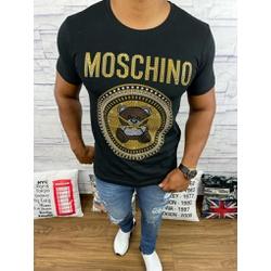 Camiseta Moschino Preto - CAMMCH01 - Queiroz Distribuidora Multimarcas