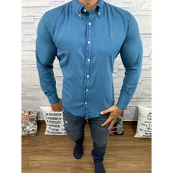 Camisa Social Jeans RL - CRLJN01 - Out in Store