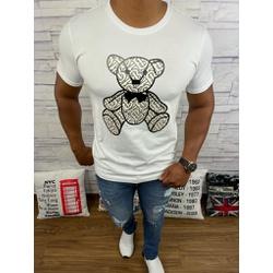 Camiseta Burberry Branco - BBR46 - DROPA AQUI