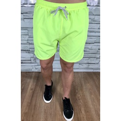 Bermuda Short Lct Forrado Verde Neon - BPLT53 - Out in Store