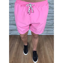 Bermuda Short Lct Forrado Rosa - BPLT58 - Out in Store