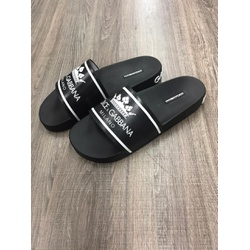 Chinelo Slide DG Preto ✅ - C2DG11 - Out in Store