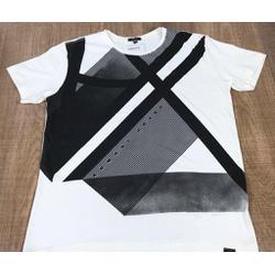 Camiseta Armani Creme⭐ - ca0130 - DROPA AQUI