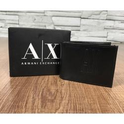 Carteira Armani Conforte Preto - CAAX0022 - Out in Store