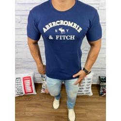 Camiseta Abercrombrie Azul Marinho - CABR141 - RP IMPORTS